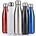 cheap Vacuum Flasks & Thermoses-Double Wall Vacuum Insulated Stainless Steel Water Bottle Perfect For Outdoor Sports Camping Hiking Cycling