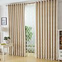 abordables Cortinas Opacas-cortinas cortinas Dormitorio Geométrico Mezcla de Poliéster y Algodón Jacquard
