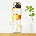 baratos Garrafas de Água-copo Portátil Presente Anti-Vazamento Para Diário Viagem Esportivo Campismo Café Chá Presente Plástico