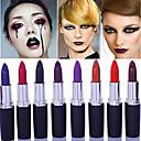 cheap Lip Sticks-1pcs  matte  band  makeup  vampire  dark  red  lip  tattoo  cosmetic  purple  waterproof  matte  lipstick  lot  labiales  matte