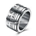 cheap Bracelets-Men's Band Ring / Nail Finger Ring / Knuckle Ring - Stainless Steel Personalized, Fashion 7 / 8 / 9 Silver For Daily / Casual