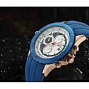 preiswerte Modische Uhren-Herrn Sportuhr / Militäruhr / Armbanduhr Kalender Echtes Leder Band Retro / Freizeit / Modisch Mehrfarbig / Edelstahl