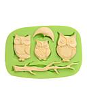 abordables Utensilios de Horno-Herramientas para hornear Silicona Ecológica / Antiadherente / Vacaciones Pastel / Galleta / Tarta Animal Herramienta de decoración 1pc