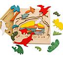 baratos Quebra-Cabeças 3D-Quebra-Cabeça Novidades De madeira Para Meninos Para Meninas Brinquedos Dom