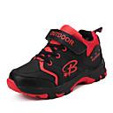 abordables Zapatos de Niña-Chico Zapatos PU Otoño Confort Zapatillas de Atletismo Paseo Con Cordón para Rojo / Azul Real