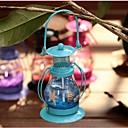 billige Lampestolper-Aladdins lys lysestake retro lykt metall håndverk hjem restaurant romantisk middag med levende lys lamper lysestake dekor ramdon farge