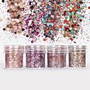 billige Negleglitter-1 pcs Glitter & Poudre / Paljetter Glitters / Klassisk Daglig