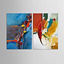 abordables Adhesivos de Pared-Estampado Laminados en lienzo - Abstracto / Naturaleza muerta Clásico / Estilo europeo
