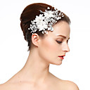 cheap Party Headpieces-Imitation Pearl / Lace / Rhinestone Flowers / Hair Clip with 1 Wedding / Special Occasion Headpiece