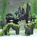 preiswerte Pumpen & Filter-Aquarien Aquarium Dekoration Zurück Row Center Bridge Dekor Verzierungen Nicht - giftig & geschmacklos Harz