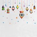 baratos Decoração Natalina-Paisagem Formas Desenho Animado Adesivos de Parede Autocolantes de Aviões para Parede Autocolantes de Parede Decorativos Autocolantes de