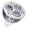 cheap LED Spot Lights-1pc 9W 600-700lm MR16 LED Spotlight 3 LED Beads High Power LED Decorative Warm White Cold White 12V