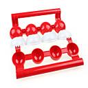 Χαμηλού Κόστους Εργαλεία Φρούτων & Λαχανικών-Πλαστική ύλη DIY Mold Δημιουργική Κουζίνα Gadget Εργαλεία κουζίνας για κρέας
