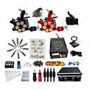 رخيصةأون ديكور-BaseKey آلة الوشم المهنية الوشم كيت, 2 pcs آلات الوشم - 2 الوشم سبيكة X آلة لبطانة والتظليل متخصص