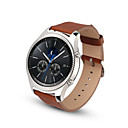 رخيصةأون الاكسسوارات ساعة ذكية-حزام إلى Gear S3 Frontier / Gear S3 Classic Samsung Galaxy بكلة كلاسيكية جلد شريط المعصم
