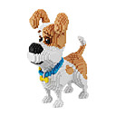 cheap Science & Exploration Sets-BALODY Building Blocks 2100pcs Dog / Diamond / Movie Character Creative / Cool Classic & Timeless / Chic & Modern / Cartoon Gift