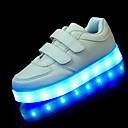 baratos Sapatos de Bebês-Para Meninos Sapatos Courino Primavera Primeiros Passos / Tênis com LED Tênis Colchete / LED para Branco / Preto