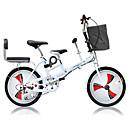 abordables Bicicletas-Bicicletas plegables Ciclismo 3 velocidad 20 pulgadas Doble Disco de Freno Suspensión por Muelle Monocoque Ordinario Aleación de aluminio / Acero / Sí / #