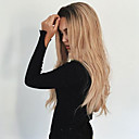 cheap Synthetic Capless Wigs-Synthetic Wig Wavy Synthetic Hair Heat Resistant / Ombre Hair / Dark Roots Blonde Wig Women's Long Capless
