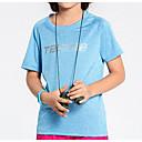 abordables Bombillas Incandescentes-Unisex Camiseta para senderismo Secado rápido Ligeras Top para Deportes recreativos Verano M L XL