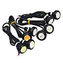 billige Tåkelys til bil-JIAWEN 2pcs Bil Elpærer 1.5W COB LED utvendig Lights / Baklys / Dagkjøringslys