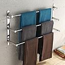 cheap Towel Bars-Towel Bar High Quality Contemporary Stainless Steel 1 pc - Hotel bath 3-towel bar
