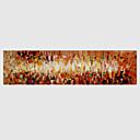 billige Oljemalerier-Håndmalte Abstrakt Vannrett,Moderne Et Panel Lerret Hang malte oljemaleri For Hjem Dekor