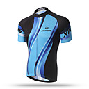 cheap Cycling Jerseys-XINTOWN Men's Short Sleeve Cycling Jersey - Black / Blue Bike Quick Dry, Breathable, Sweat-wicking