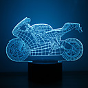 cheap Holiday Deals-1 pc 3D Nightlight Multi Color USB Sensor Dimmable Waterproof Color-Changing