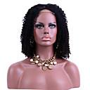 זול פיאות תחרה משיער אנושי-שיער אנושי תחרה מלאה פאה Kinky Curly פאה 130% צפיפות שיער שיער טבעי פאה אפרו-אמריקאית 100% קשירה ידנית בגדי ריקוד נשים קצר בינוני ארוך פיאות תחרה משיער אנושי / קינקי קרלי