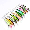 cheap Nail Glitter-10 pcs Hard Bait Plastic Sea Fishing
