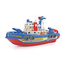 baratos Brinquedo de Água-Brinquedos de Montar Som / Noctilucente / Elétrico Barco de Guerra / Navio Plástico Peças Para Meninos Crianças Dom