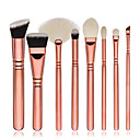 cheap Makeup Brush Sets-8pcs Makeup Brushes Professional Makeup Brush Set / Blush Brush / Contour brush set/Blush brush/Eyeshadow Brush/concealer brush/foundation brush/ Synthetic Hairfull coverage