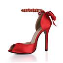 baratos Sapatos de Salto-O clube do verão das sandálias das mulheres calça a festa de casamento de seda&Vestido de noite beading