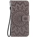 cheap Smartwatch Accessories-Case For LG K8 LG LG K5 LG K4 LG Nexus 5X LG K10 LG G5 Card Holder Wallet Flip Embossed Full Body Cases Flower Hard PU Leather for LG X