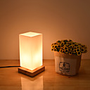 abordables Lámparas de Noche-Moderno / Contemporáneo Protección para los Ojos Lámpara de Mesa Para Madera / Bambú 110-120V / 220-240V