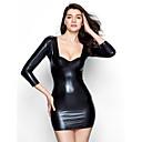 abordables Uniforme Sexy-Mujer Sexy Ultrasexy Ropa de dormir Un Color