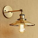 baratos Luzes LED de Dois Pinos-Rústico / Campestre / Retro / Regional Luminárias de parede Metal Luz de parede 110-120V / 220-240V 40 W / E26 / E27