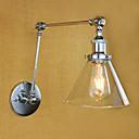baratos Arandelas de Parede-Retro / Regional Swing Arm Lights Metal Luz de parede 220V / 110-120V 40 W / E26 / E27