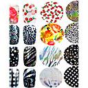 preiswerte Aufkleber für Nägel-1pcs Modisch 3D Nagel Sticker Alltag