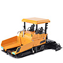 cheap Toy Trucks & Construction Vehicles-Truck Asphalt Paver Toy Truck Construction Vehicle Toy Car Metal Unisex Kid's Toy Gift