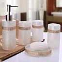 ieftine Soap Dispensers-Set Accesorii Baie Contemporan Reșină 5pcs - Hotel baie