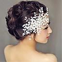 povoljno Party pokrivala za glavu-Imitacija bisera Kose za kosu / Cvijeće s 1 Vjenčanje / Special Occasion Glava