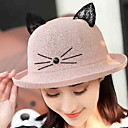 זול סנדלי נשים-כובע שמש - אחיד סגנון רחוב בגדי ריקוד נשים