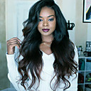 cheap Human Hair Wigs-Virgin Human Hair Full Lace Wig Brazilian Hair Body Wave Wig 150% With Baby Hair / Natural Hairline / African American Wig Women's Short / Long Human Hair Lace Wig