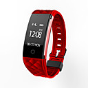 cheap Smartwatches-S21 Smartwatch / Activity Tracker / Smart Bracelet Smartwatch iOS / Android Water Resistant / Water Proof / Sports / Heart Rate Monitor Heart Rate Sensor TPU White / Black / Red / Calories Burned