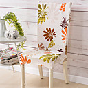 cheap Slipcovers-Chair Cover Floral / Botanical Print 100% Polyester Slipcovers