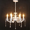cheap Chandeliers-6-Light Chandelier Ambient Light - Crystal, Mini Style, Candle Style, 110-120V / 220-240V Bulb Not Included / 5-10㎡ / E12 / E14