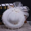 رخيصةأون قطع رأس-تول / قماش / صاف قبعات مع 1 زفاف / مناسبة خاصة / فضفاض خوذة