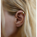 cheap Dog Clothes-Women's Clip Earrings - Basic Gold / Silver For Wedding / Daily / Casual